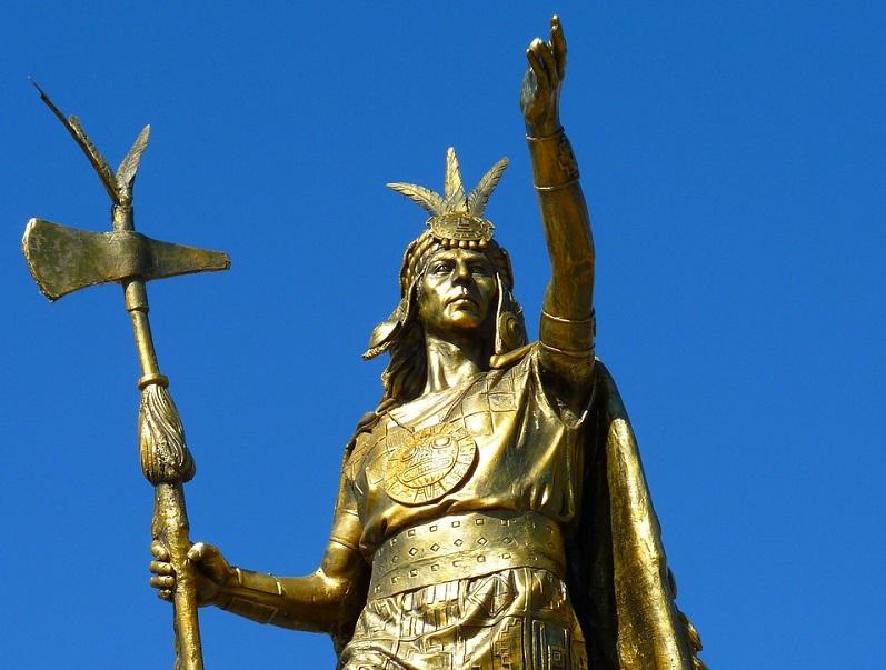 Statue in Peru